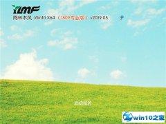 雨林木风 Win10 x64(1809专业版)v2019.05